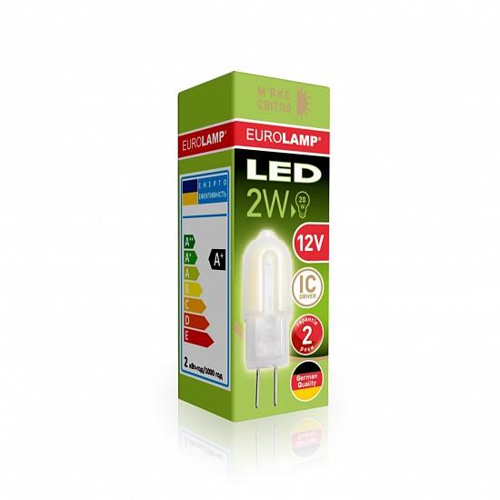 EUROLAMP LED Лампа капсульная Plastic G4 2W G4 3000K 12V