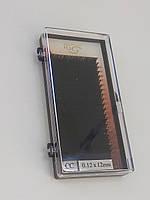 Ресницы I-Beauty на ленте , 12мм, изгиб СС 0,12 Mink Eyelashes (20 линий)
