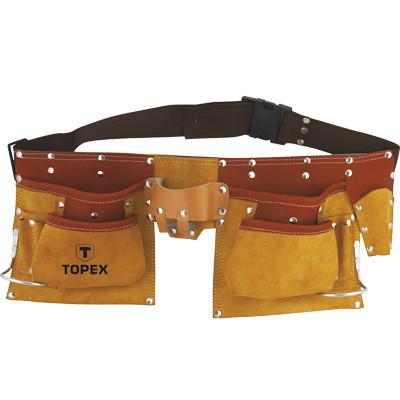 Пояс монтажника TOPEX 11 карманов (79R405)