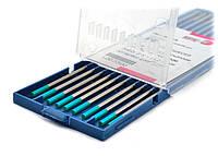 Лантановый вольфрамовый электрод WR2 (бирюзовый) / 1,0мм / Abicor Binzel