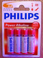 Батарейка Philips Power Alkaline LR6 АА 1.5V, фото 1