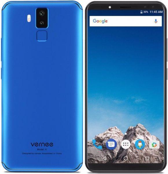Смартфон Vernee X (blue) оригінал - гарантія!