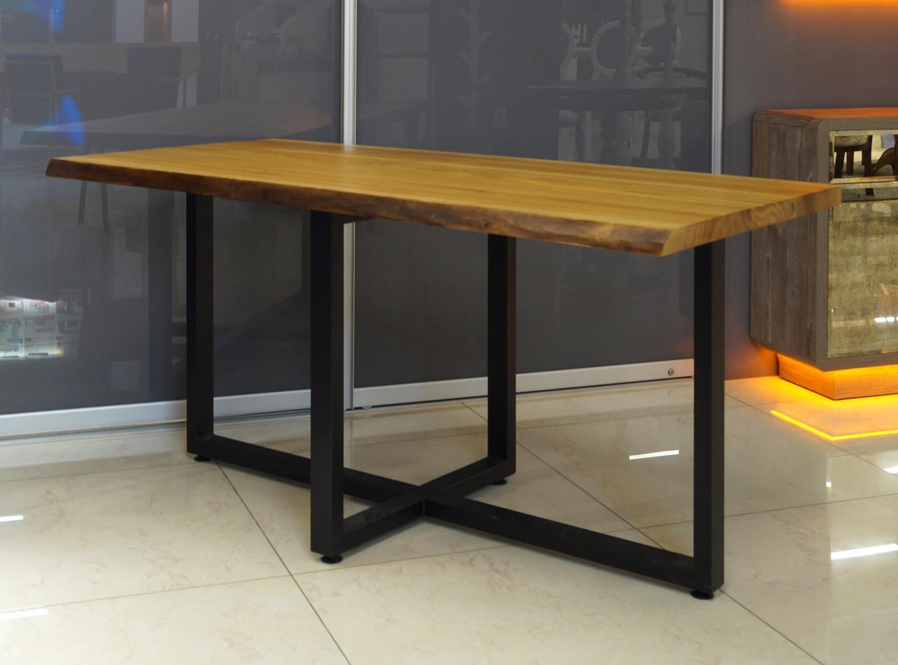 Стол обеденный М1020П из массива ясеня