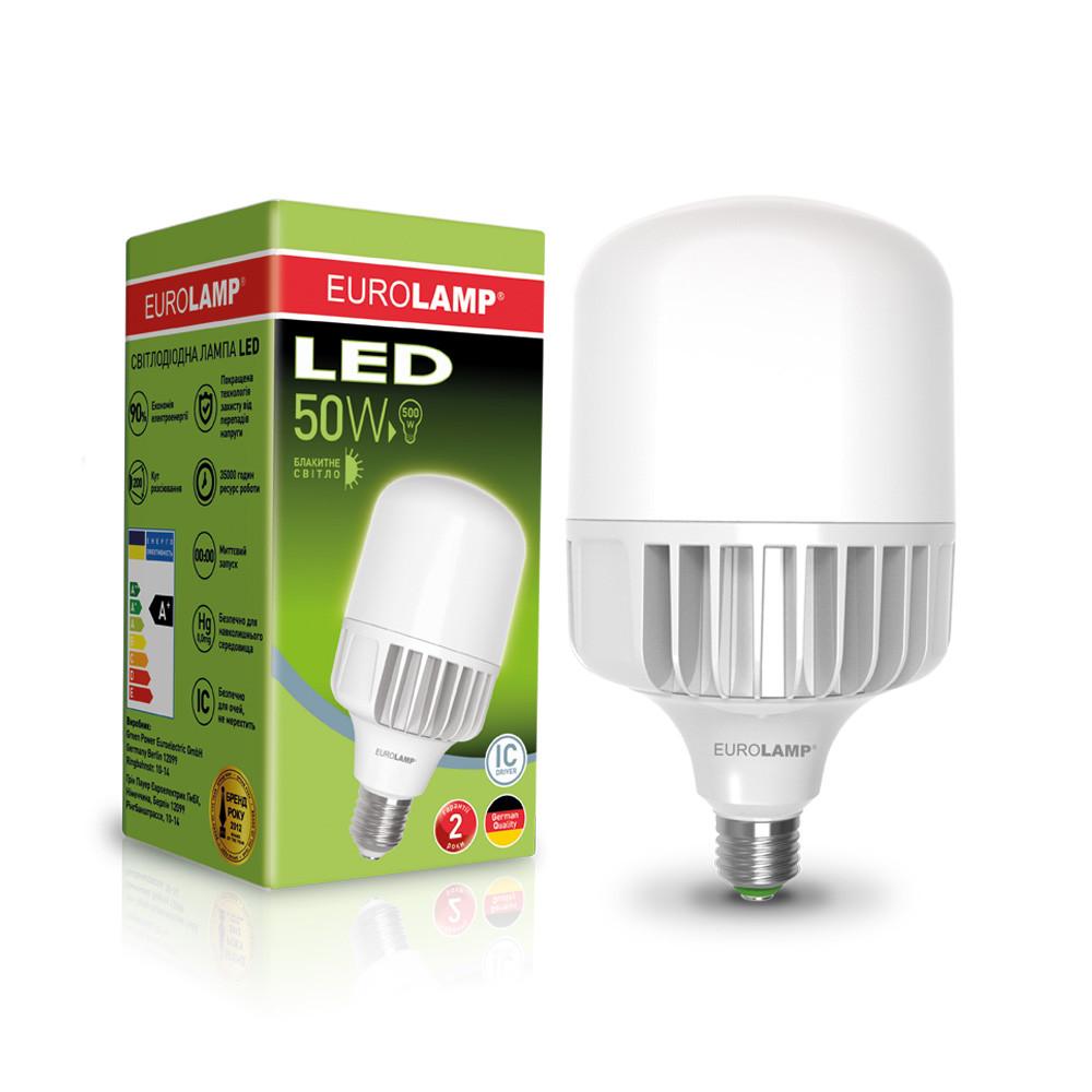EUROLAMP LED Лампа высокомощная 50W E40 6500K