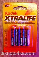 Батарейка Kodak XtraLife Alkaline LR03 AAA 1.5V, фото 1