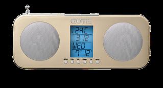 Радиобудильник GOTIE GRA-200Z