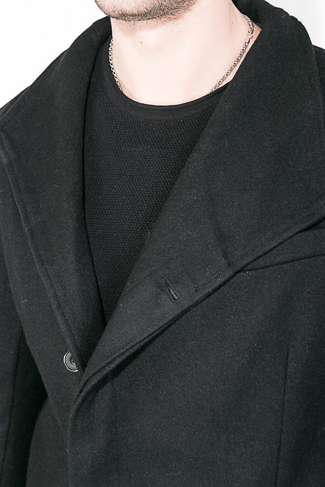 Пальто Мужское Классическое AG-0008494 Чернильный — в Категории