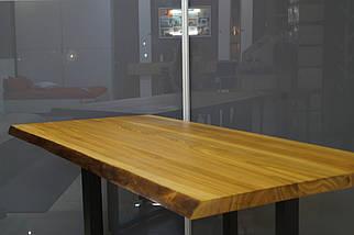 Стол обеденный М1020П из массива ясеня, фото 2