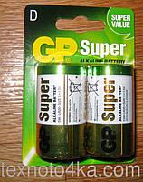 Батарейки GP Super D 13A LR20 1.5V, фото 1