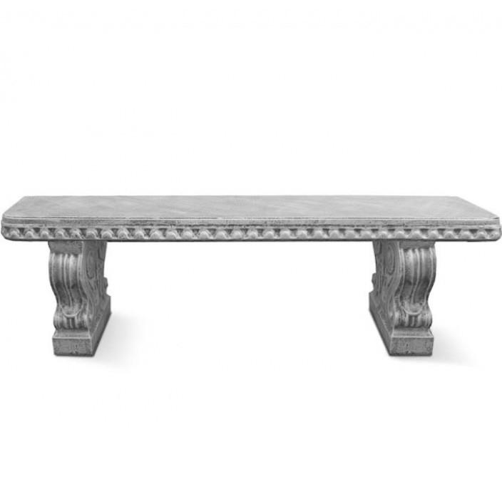 """Форма для скамейки из бетона """"Барокко"""" стеклопластиковая"""