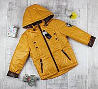 Детская куртка на мальчиков весенняя яркая