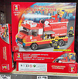 """Конструктор """"Пожарные спасатели"""", 281 деталь, SLUBAN M38-B0220R, фото 2"""