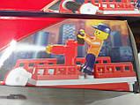 """Конструктор """"Пожарные спасатели"""", 281 деталь, SLUBAN M38-B0220R, фото 5"""