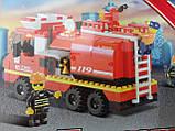 """Конструктор """"Пожарные спасатели"""", 281 деталь, SLUBAN M38-B0220R, фото 6"""