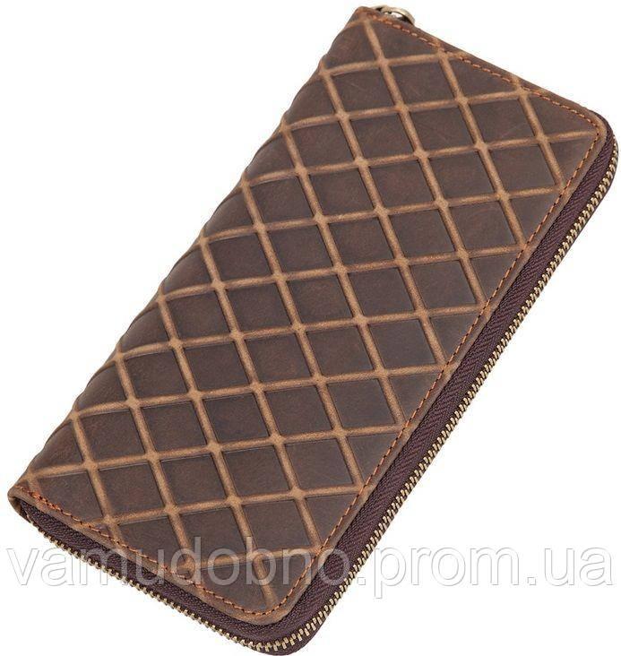 540bf3981a80 Кошелек женский Vintage 14613 из натуральной кожи Коричневый, Коричневый