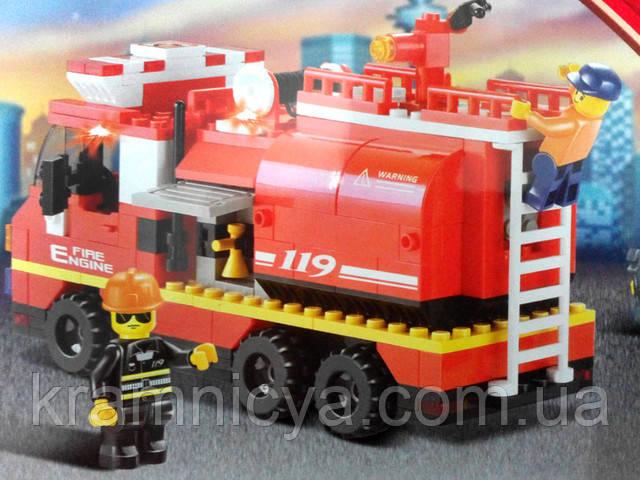"""Конструтктор пластиковый """"Пожарные спасатели"""" купить"""