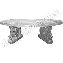 """Форма для скамейки из бетона """"Китай"""" стеклопластиковая, фото 2"""