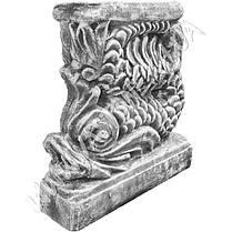 """Форма для скамейки из бетона """"Китай"""" стеклопластиковая, фото 3"""