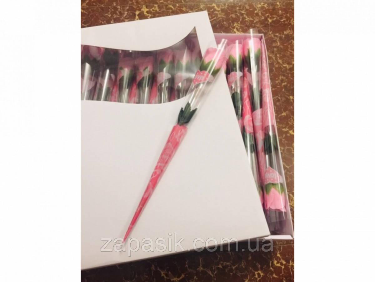 Мыло Роза для Ванной Ароматическая День Святого Валентина 8 Марта Подарок 60 шт в Упаковке