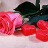 Мыло Роза для Ванной Ароматическая День Святого Валентина 8 Марта Подарок 60 шт в Упаковке, фото 2