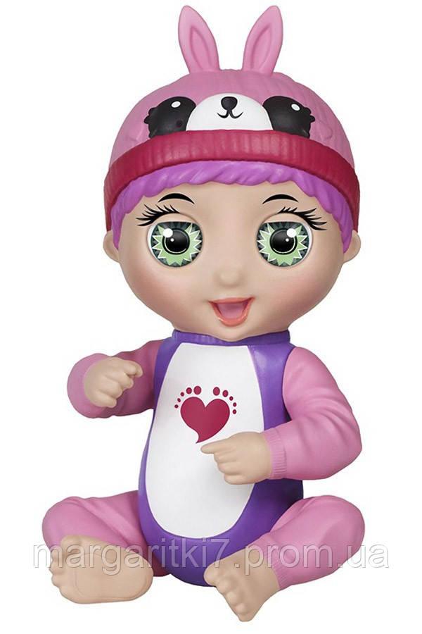 Ручная кукла интерактивная Tiny Toes Тесс кролик