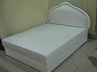 Кровать из кожи АРМАНИ