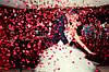 Пневмохлопушка Лепестки Роз Романтика День Влюбленных Свадьба 8 Марта Упаковка 10 шт, фото 4