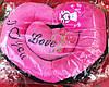 Подушка Мягкая Говорящее Сердечко Подарок на День Влюбленных ширина 27 см в Упаковке 5 шт, фото 3