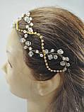 Тика для волосся Прикраса Тікка кришталева, фото 8