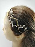 Тика для волосся Прикраса Тікка кришталева, фото 5