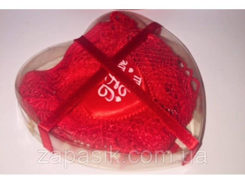 Трусики Бикини в Подарочной Упаковке ко Дню Влюблённых Романтика в Упаковке 10 шт