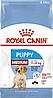 Корм Royal Canin Medium Puppy, для щенков средних пород с 2 до 12 месяцев, 4 кг