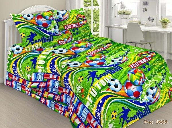 Комплект постельного белья  для мальчиков Футбол