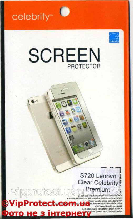 Lenovo S720 Premium глянцевая защитная пленка на телефон