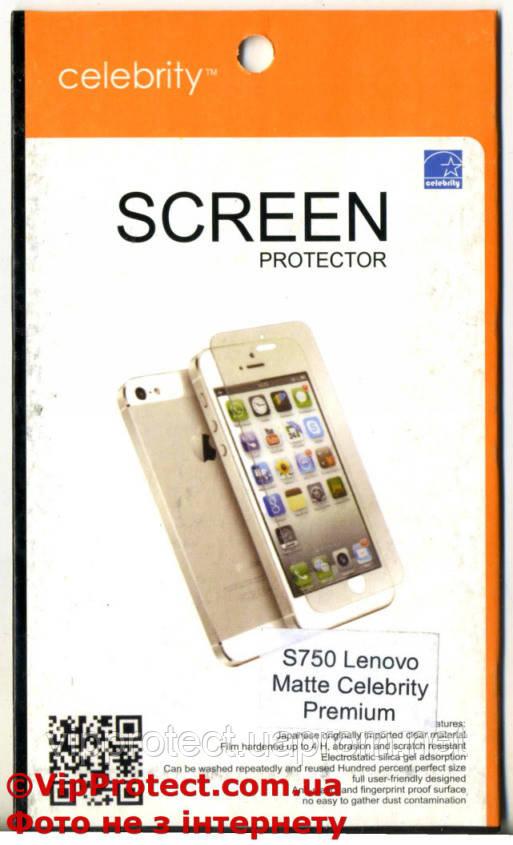 Lenovo S750, матовая защитная пленка на телефон
