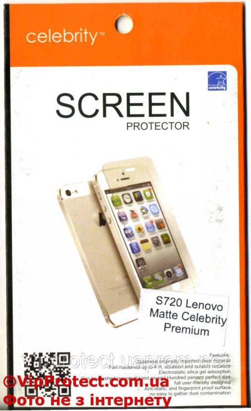 Lenovo S720, матовая защитная пленка на телефон