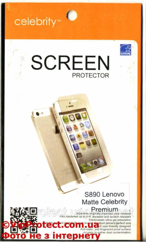 Lenovo S890, матовая защитная пленка на телефон