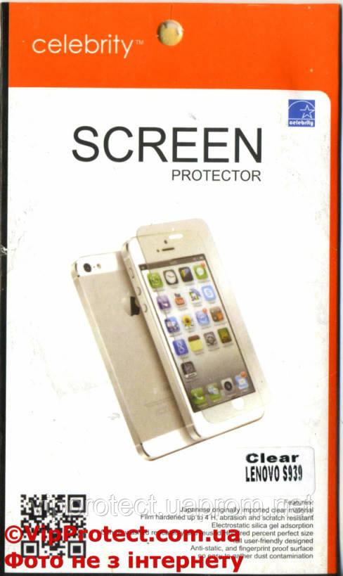 Lenovo S939, глянцевая защитная пленка на телефон
