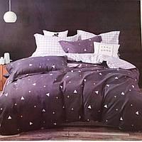 Стильный постельный комплект 180*220 (Двухспальный) 5Д