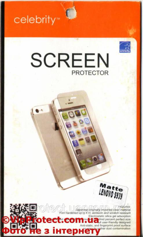Lenovo S939, матовая защитная пленка на телефон