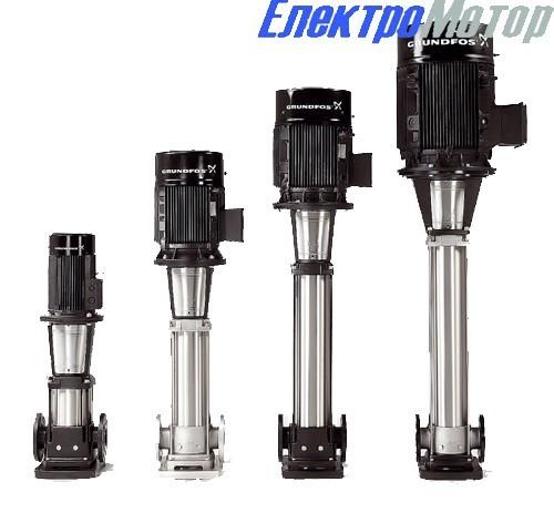 Насосы Grundfos CR 64-1-1 F — CR 64-4 F вертикальные многоступенчатые