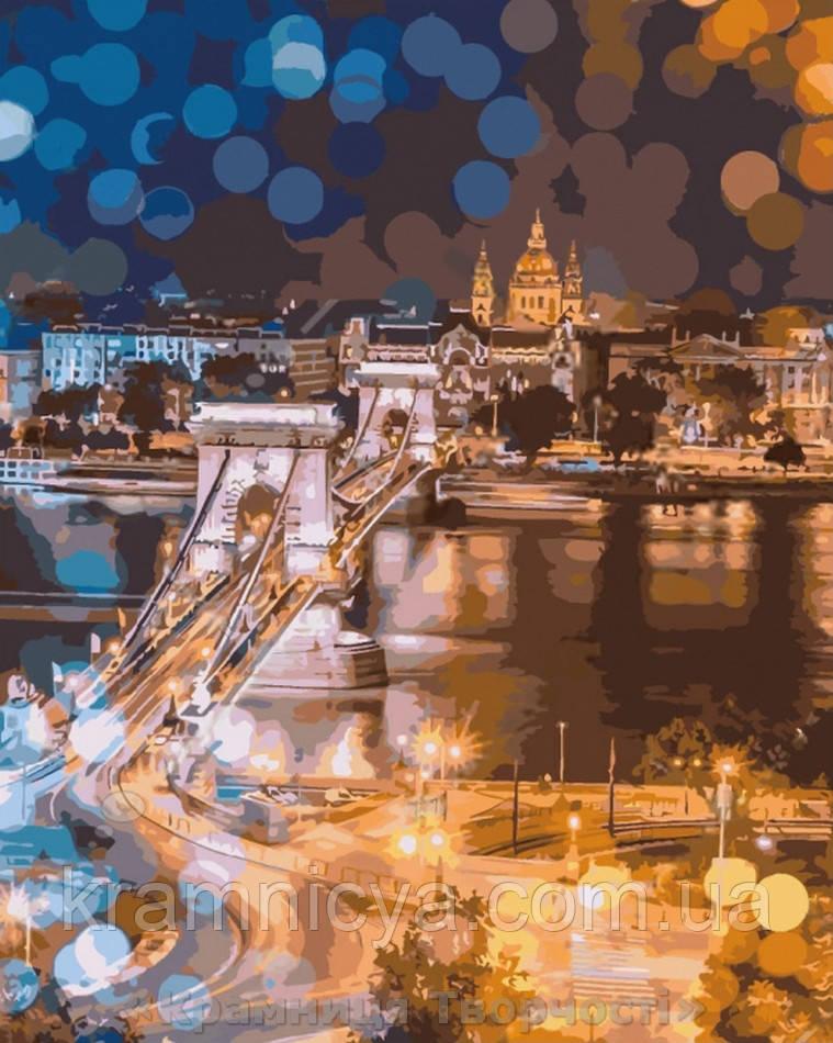 Картина за номерами Чарівність нічного міста 40х50 (КНО3541)