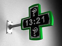 LED Крест одноцветный фигурный односторонний, 1080х1080 мм (Цвет диодов: Белые диоды;  Локальная сеть: C