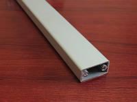 Прямоугольная алюминиевая труба 40х20мм