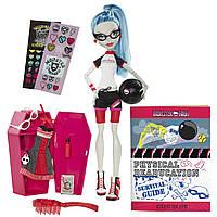 Кукла Monster High Гулия Йелпс из серии классная комната, Classroom Playset Ghoulia Yelps, фото 1