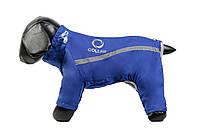 Комбинезон зимний Д 419 №21 для породы собак доберман Collar Теремок, 180212 синий, 92*72 см