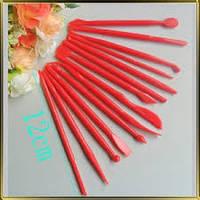Набор инструментов для лепки 14 шт. проработки тонких деталей (керамической флористики,мастики), фото 1
