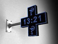 Двухсторонний LED Крест одноцветный, 960х960 мм (Цвет диодов: Белые диоды;  Локальная сеть: C модулем WiFi;
