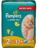 PAMPERS Подгузники New Baby-Dry Mini(3-6кг)17