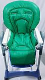 Односторонний чехол на стульчик для кормления Capella ABC design Joy Baby и подобные, фото 5